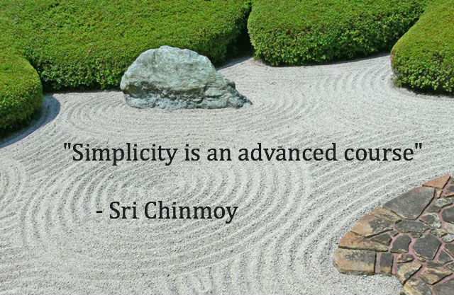 Simplicity Is an Advanced Course